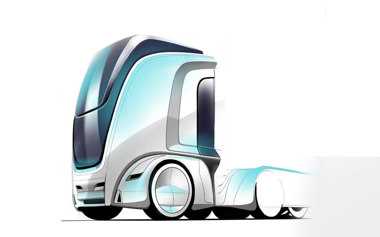 Interior concept ABID truckdesign