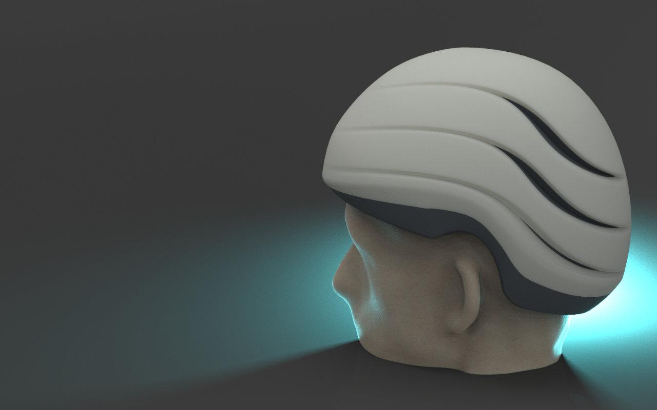 Epilepsie helm